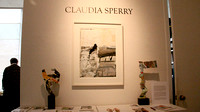 Claudia Sperry- Now & Then exhibit opening